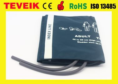 Cina 002796 Adult thigh NIBP cuff double hose for patient monitor Nylon Material pemasok
